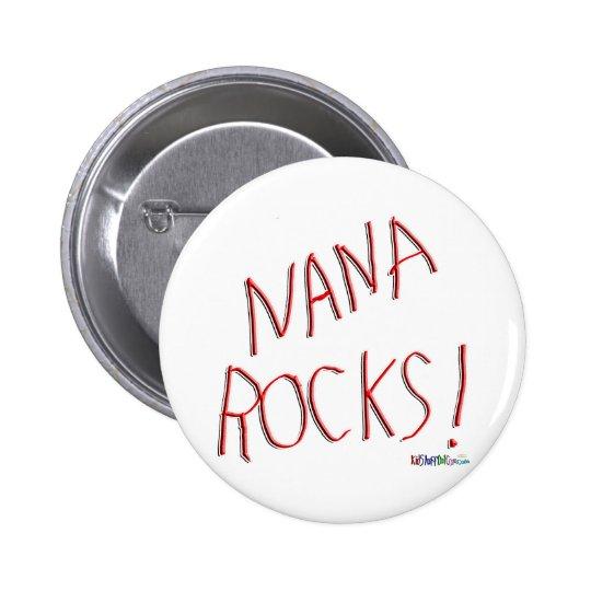 Nana Rocks! Button