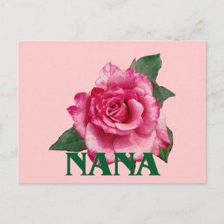 Nana Rose Postcard postcard