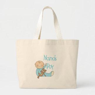 Nana s Boy Canvas Bags