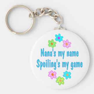 Nana Spoils Keychain
