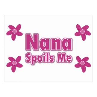 Nana Spoils Me Postcard