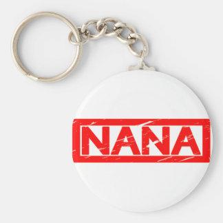 Nana Stamp Keychain
