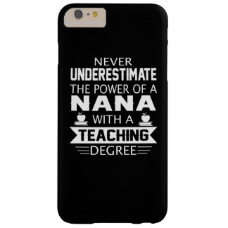 Nana Teacher Barely There iPhone 6 Plus Case