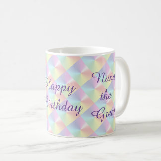 Nana the Great Birthday DiamondShimmer Mug by Janz
