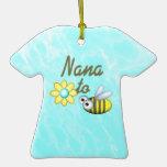 Nana to Be Christmas Ornaments