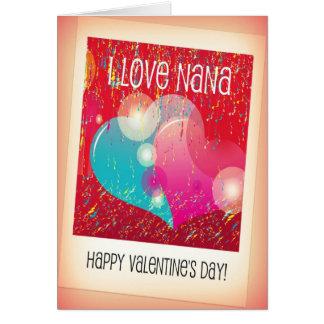 Nana Valentine Card