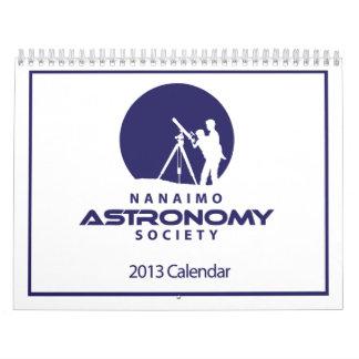 Nanaimo Astronomy Society Calendar 2013