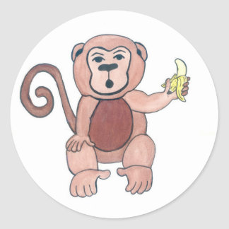 Nanaman Classic Round Sticker