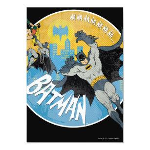 NANANANANANA Batman Icon Invitation