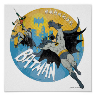 NANANANANANA Batman Icon Poster