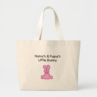 Nana's and Papa's Little Bunny T-shirts and Gifts Bag