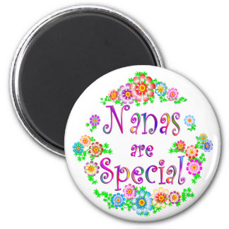 NANAS are Special 2 Inch Round Magnet