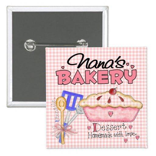 Nana's Bakery Buttons