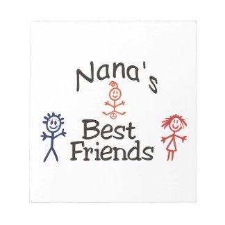 Nanas Best Friends Notepad