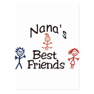 Nanas Best Friends Postcard