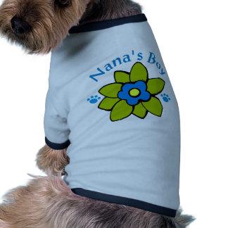 Nana's Boy Dog T Shirt