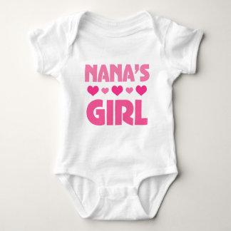 Nanas Girl Baby Bodysuit