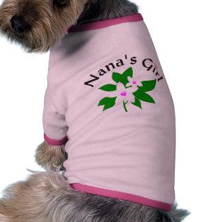 Nana's Girl Pet Clothing