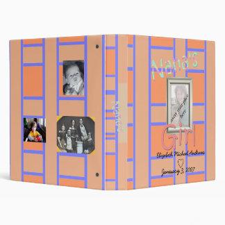 Nana's Girl Photo Album Vinyl Binders
