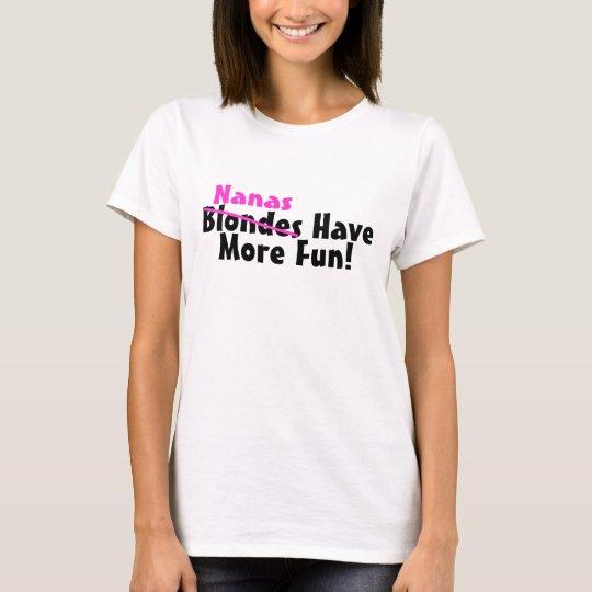 Nanas Have More Fun Pink T-Shirt