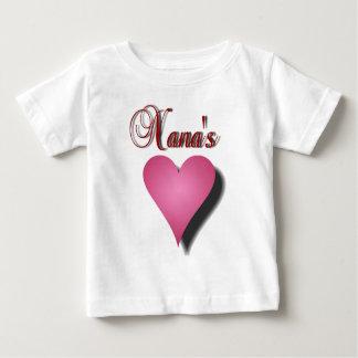 Nana's Heart Baby T-Shirt