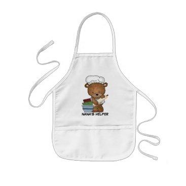 doodlesgifts Nana's Helper apron