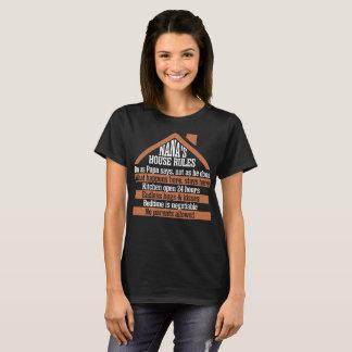 Nanas House Rules Tshirt