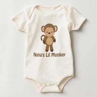 Nana's Lil Monkey Bodysuit