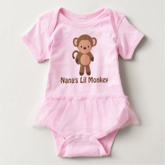 Nana's Lil Monkey Tutu Bodysuit