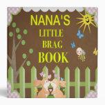 NaNa's Little Brag Book Vinyl Binders
