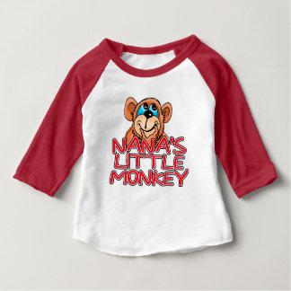 Nana's Little Monkey Baby T-Shirt