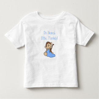 Nana's Little Monkey - Blue Tshirts and Gifts