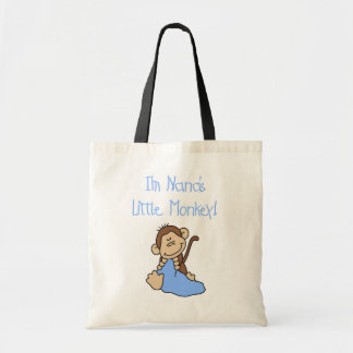 Nana's Little Monkey - Blue Tshirts and Gifts Bags