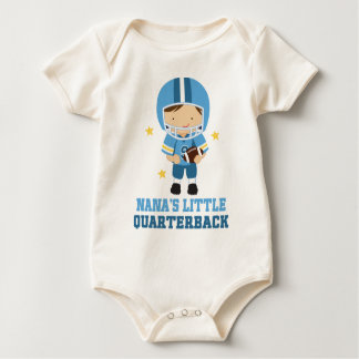 Nanas Little Quarterback Baby Bodysuit