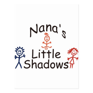 Nanas Little Shadows Postcard