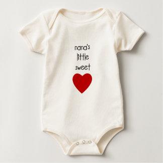Nana's Little Sweet Heart Bodysuits