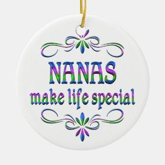 Nanas Make Life Special Ceramic Ornament