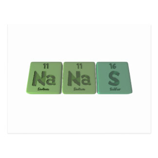 Nanas-Na-Na-S-Sodium-Sodium-Sulfur.png Postcard