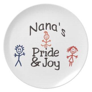 Nanas Pride & Joy Dinner Plate