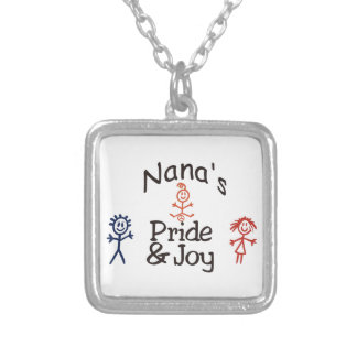 Nanas Pride & Joy Silver Plated Necklace