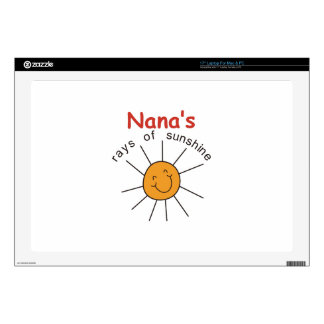 "Nanas Rays of Sunshine Skin For 17"" Laptop"