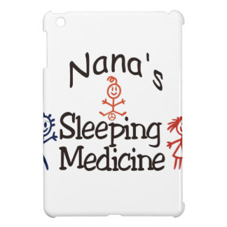 Nanas Sleeping Medicine iPad Mini Cover