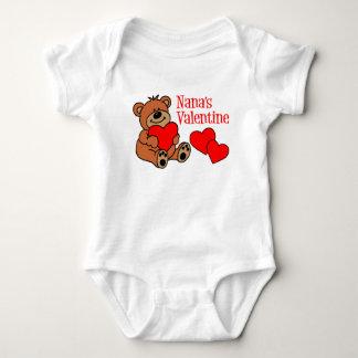 Nana's Valentine Baby Bodysuit