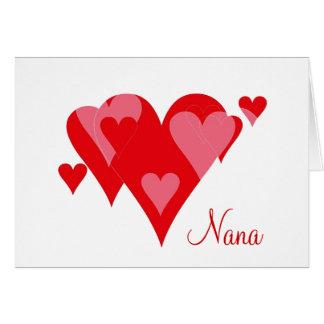 Nana's Valentine Card