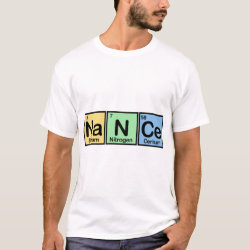 Men's Basic T-Shirt with Nance made of Elements design
