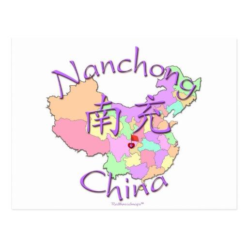 Nanchong China  city pictures gallery : Nanchong China Postcard | Zazzle