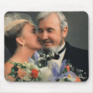 Nancy and Joe Mouse Pad