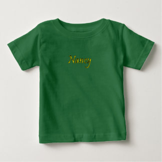 Nancy customized t-shirt in green