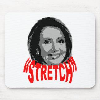 """Nancy """"estiramiento"""" Pelosi Alfombrilla De Ratones"""