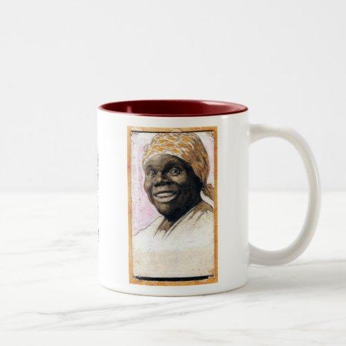 Nancy Green Aunt Jemima Two_Tone Coffee Mug